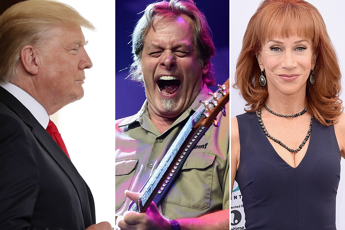 Ted Nugent Says Kathy Griffin ?Went Beyond the Pale? With Beheaded President Trump Photograph