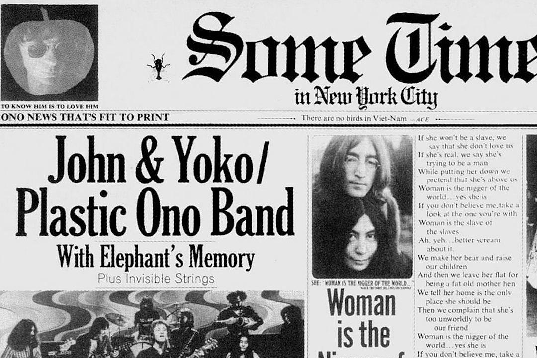 Imagine Song Lyrics John Lennon The Beatles Yoko Ono Classic Music Poster Print
