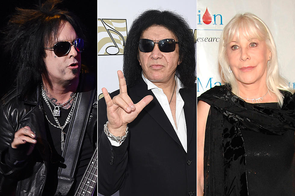 Nikki Sixx and Wendy Dio Mock Gene Simmons' Attempt to Trademark