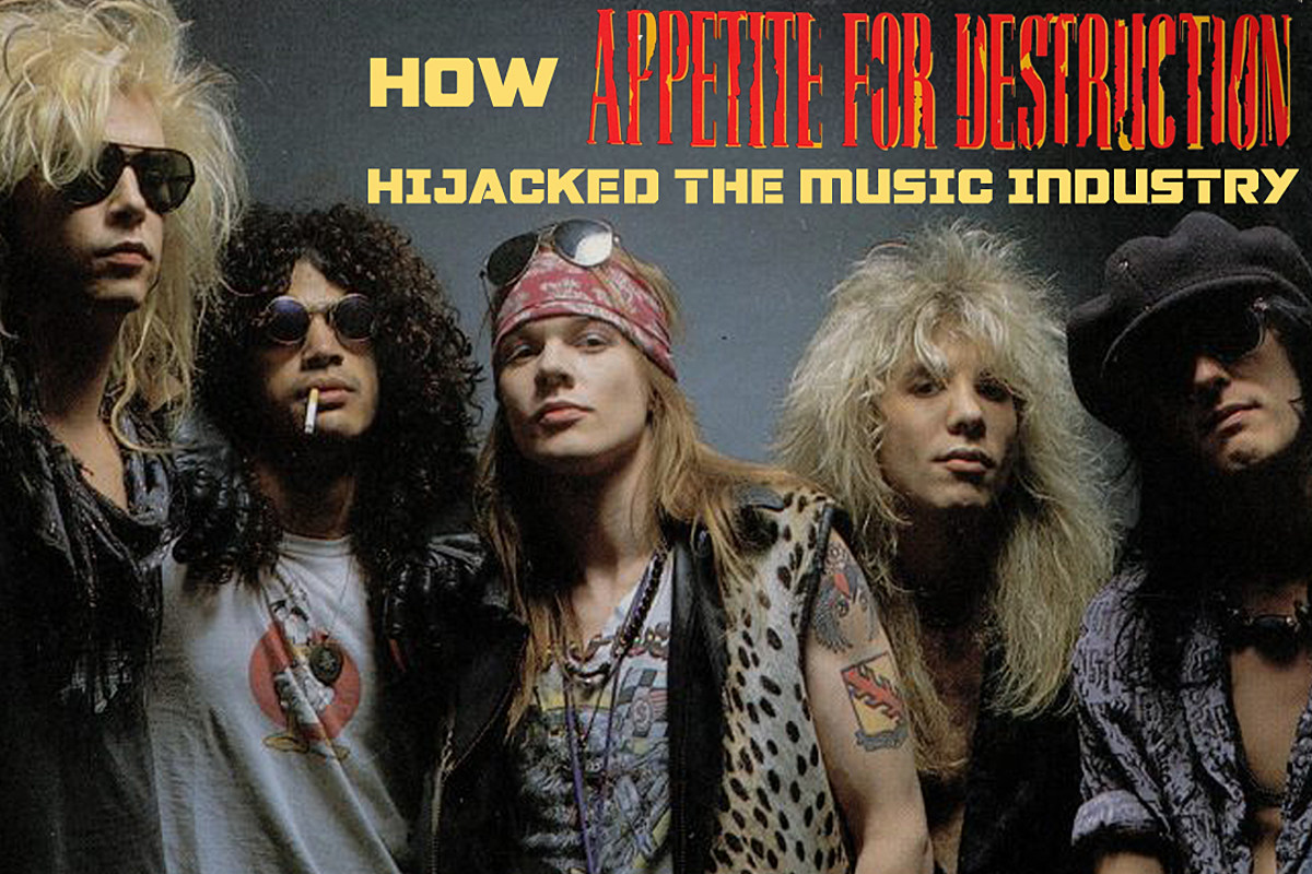 How 'Appetite for Destruction' Hijacked the Music Industry