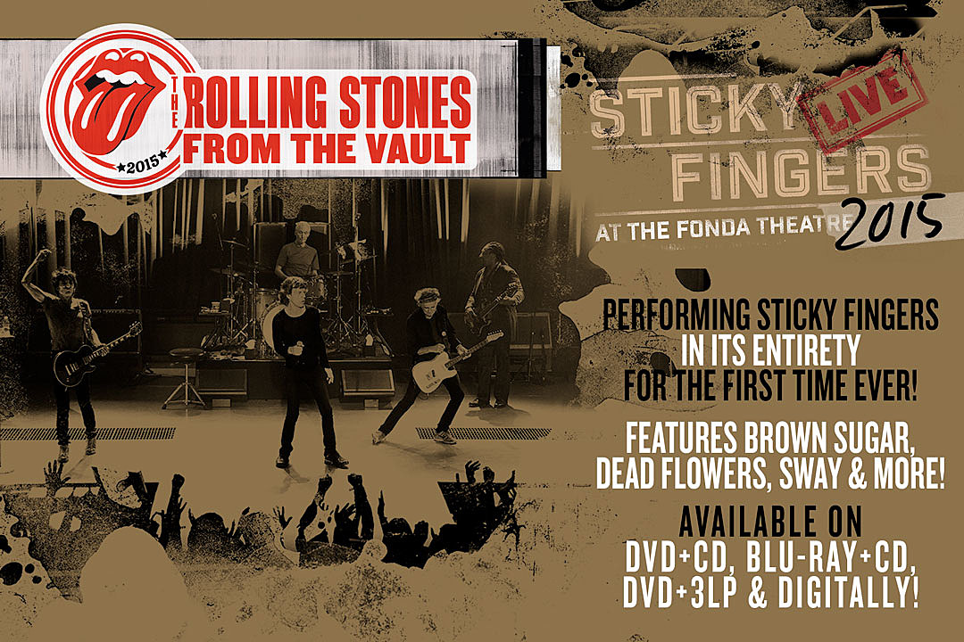 The Rolling Stones 'From The Vault – Sticky Fingers Live At