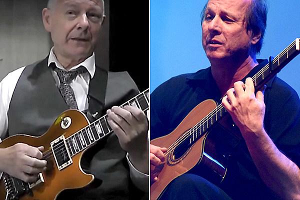 King Crimson's Robert Fripp Reconnects With Adrian Belew