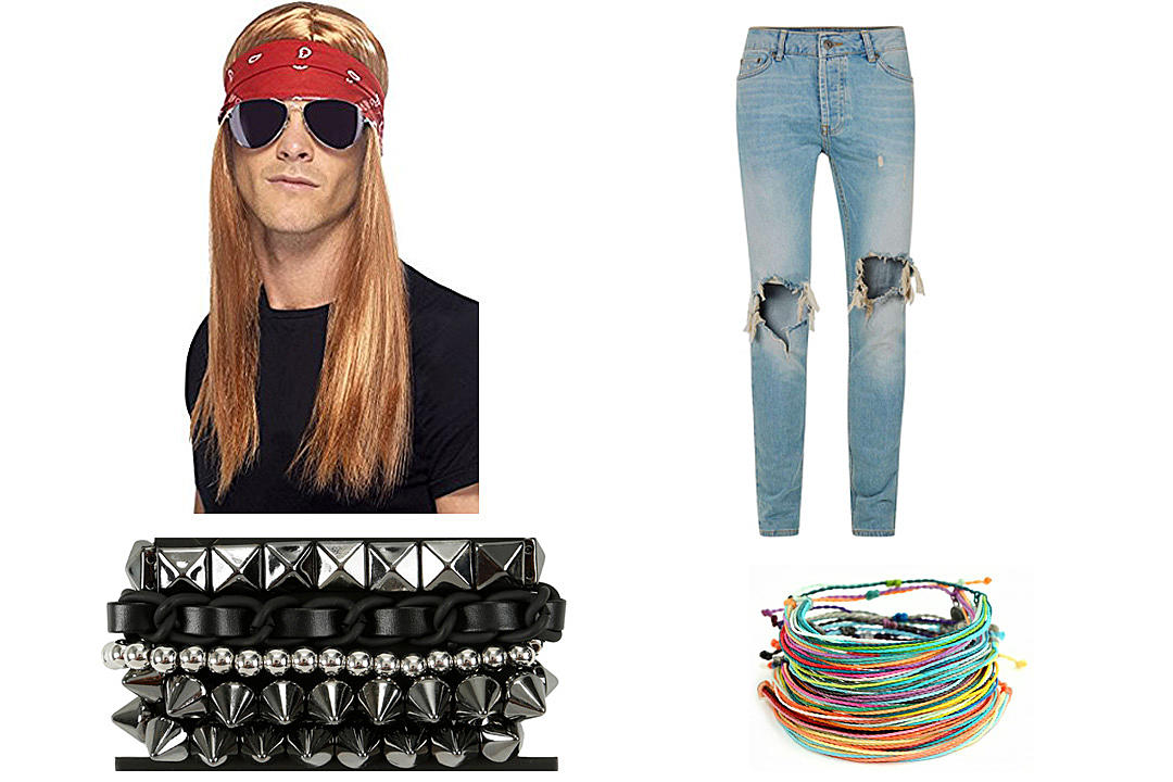 "683cc4bdc40 The bad news is that an Axl Rose costume won t help you nail ""Sweet Child  O  Mine"" at karaoke. The good news is it will takes less time to assemble  than ..."