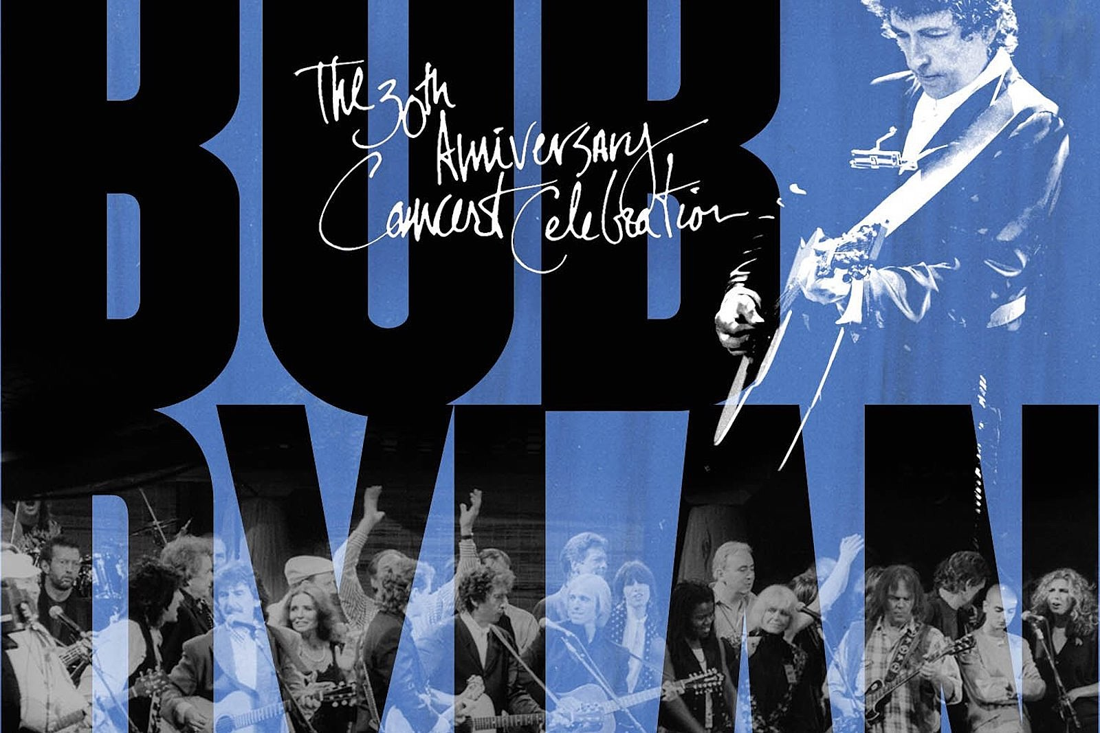 8a3fd3d84205c9 25 Years Ago  Bob Dylan Joins Massive 30th Anniversary Concert