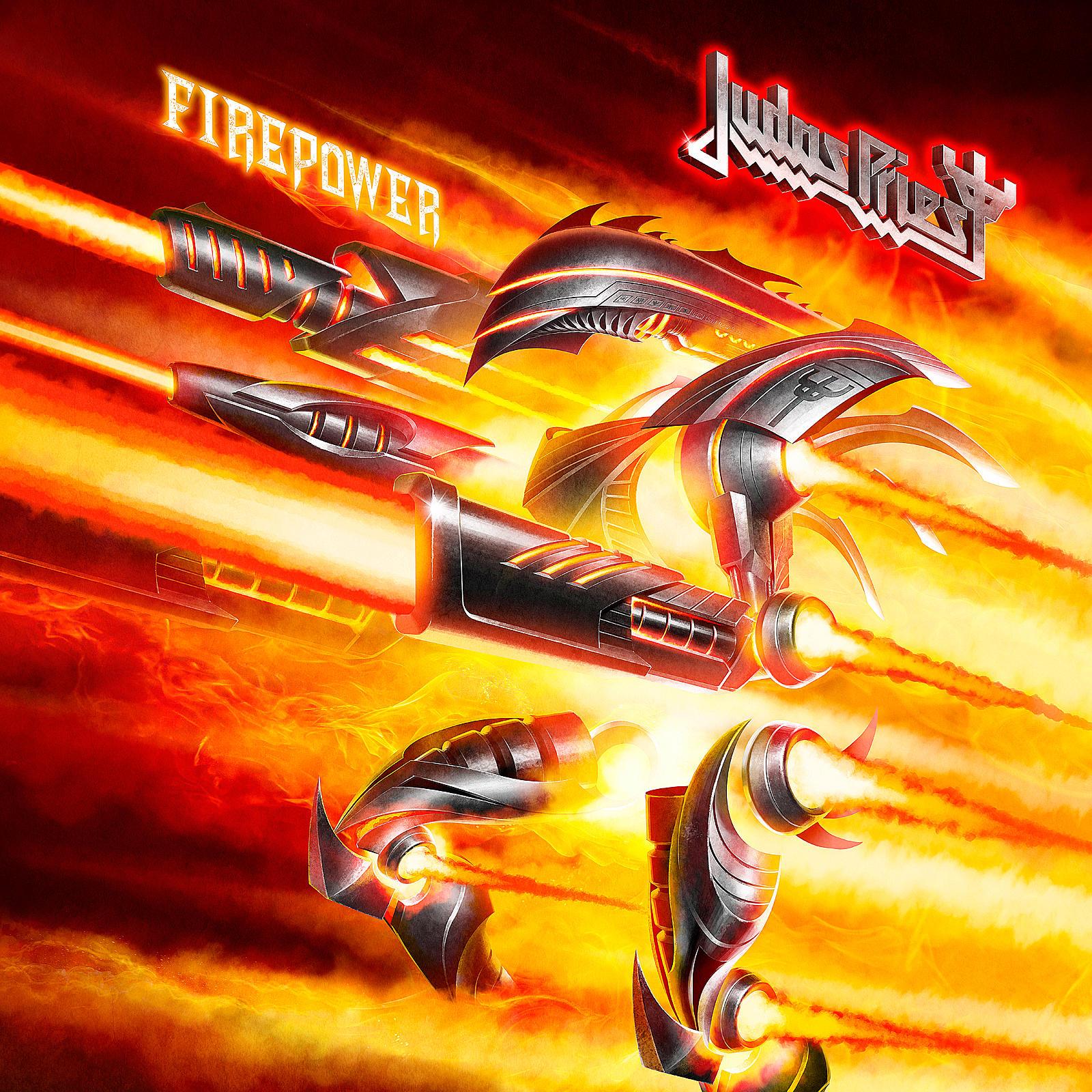 Resultado de imagem para judas priest firepower artwork