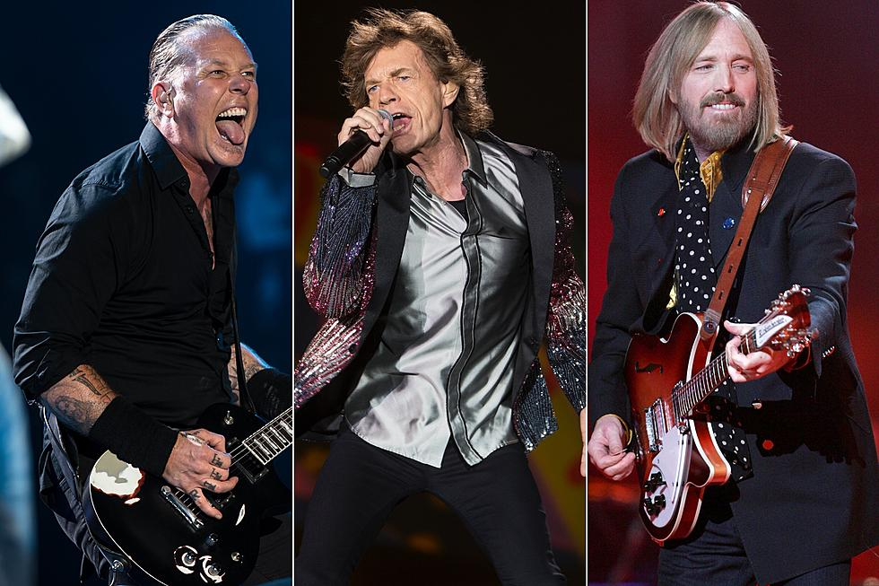 Metallica, Rolling Stones, Tom Petty Top 2017 Rock Album Charts
