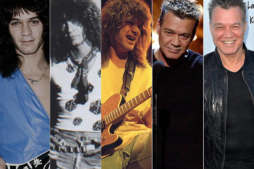 Eddie Van Halen Year By Year 1977 2017 Photos