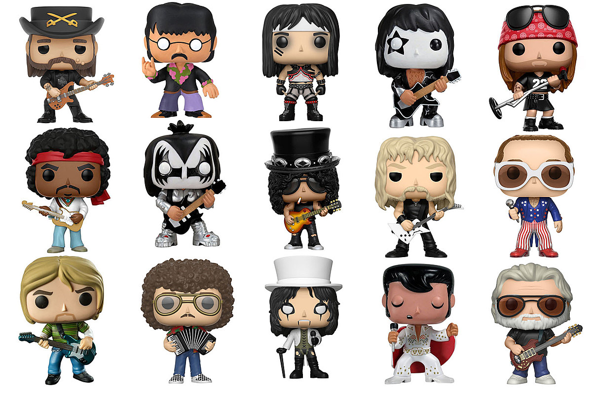 Funko Pop Rock Star Figures A Complete Guide