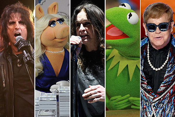 The Muppets Meeting Rock Stars: 31 Magical Moments