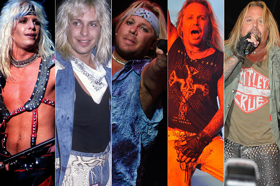 Vince Neil Year by Year: 1981-2018 Photos