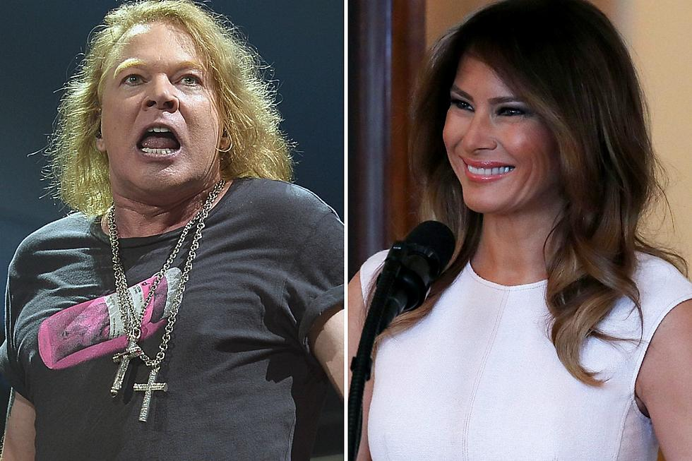 Axl Rose Rips First Lady + 'Alleged Former Hooker' Melania Trump