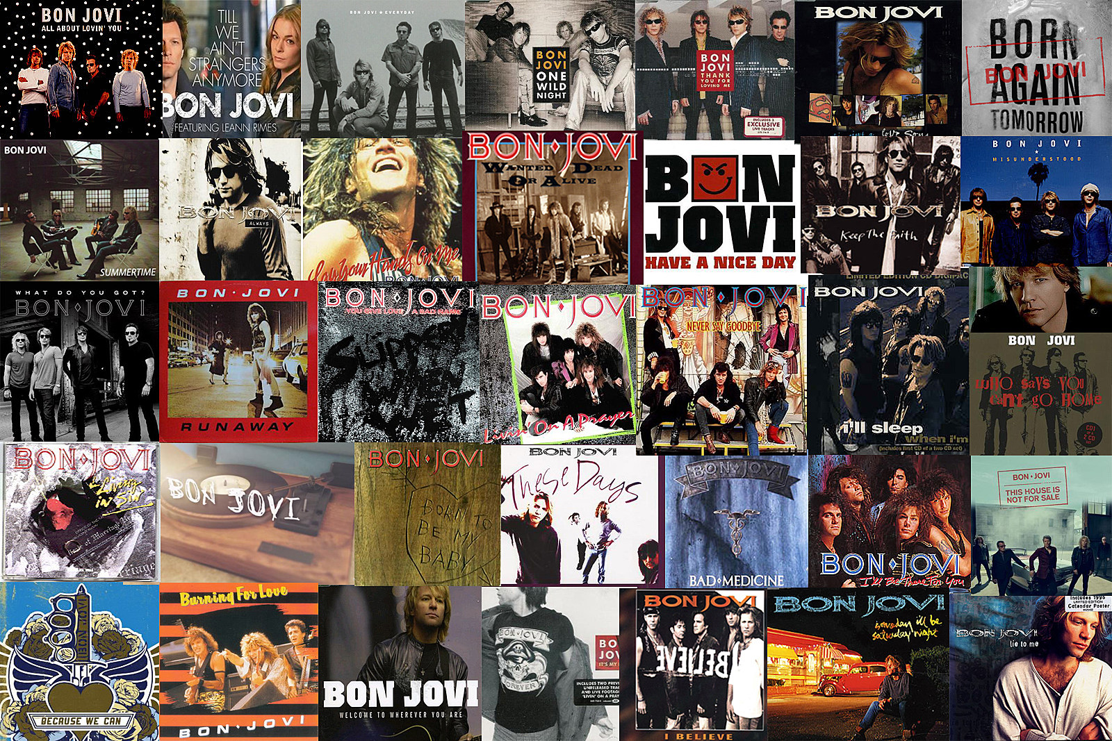 All 334 Bon Jovi Songs, Ranked Worst to Best