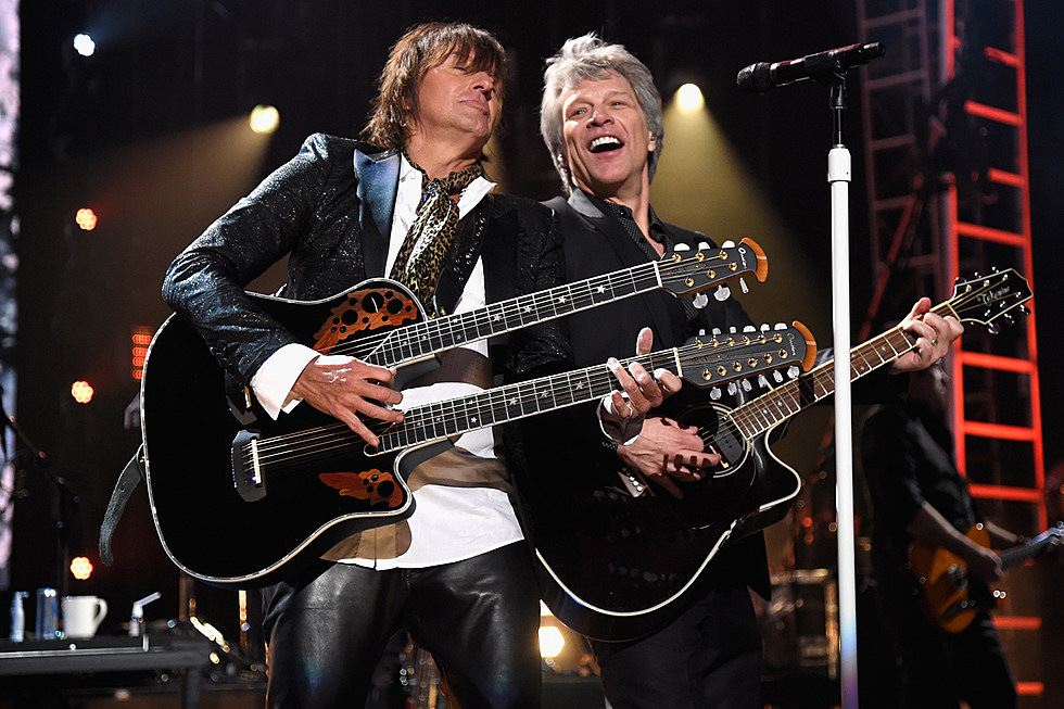 Bon Jovi Perform With Richie Sambora At The Rock And Roll Hall Of Fame