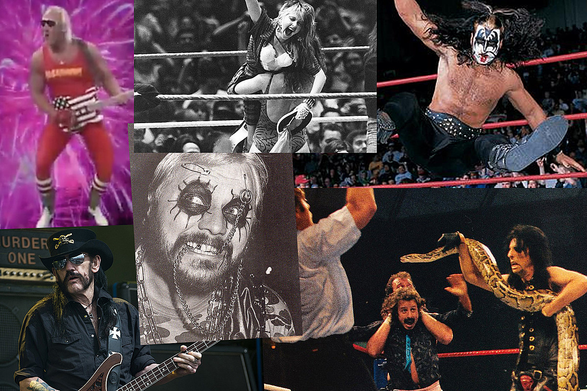 35 Great Rock And Wrestling Moments