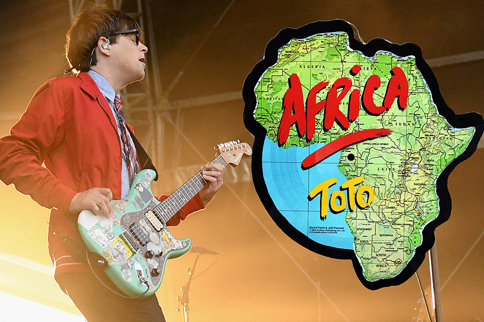 Listen to Weezer's Cover of Toto's 'Africa'