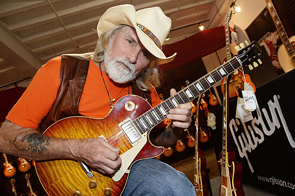 Mild Stroke Forces Dickey Betts To Cancel Tour