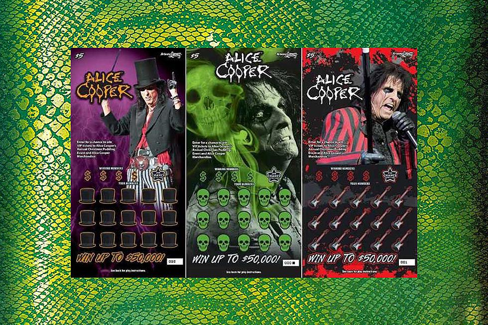 Alice Cooper Featured on New Arizona Lottery Ticket