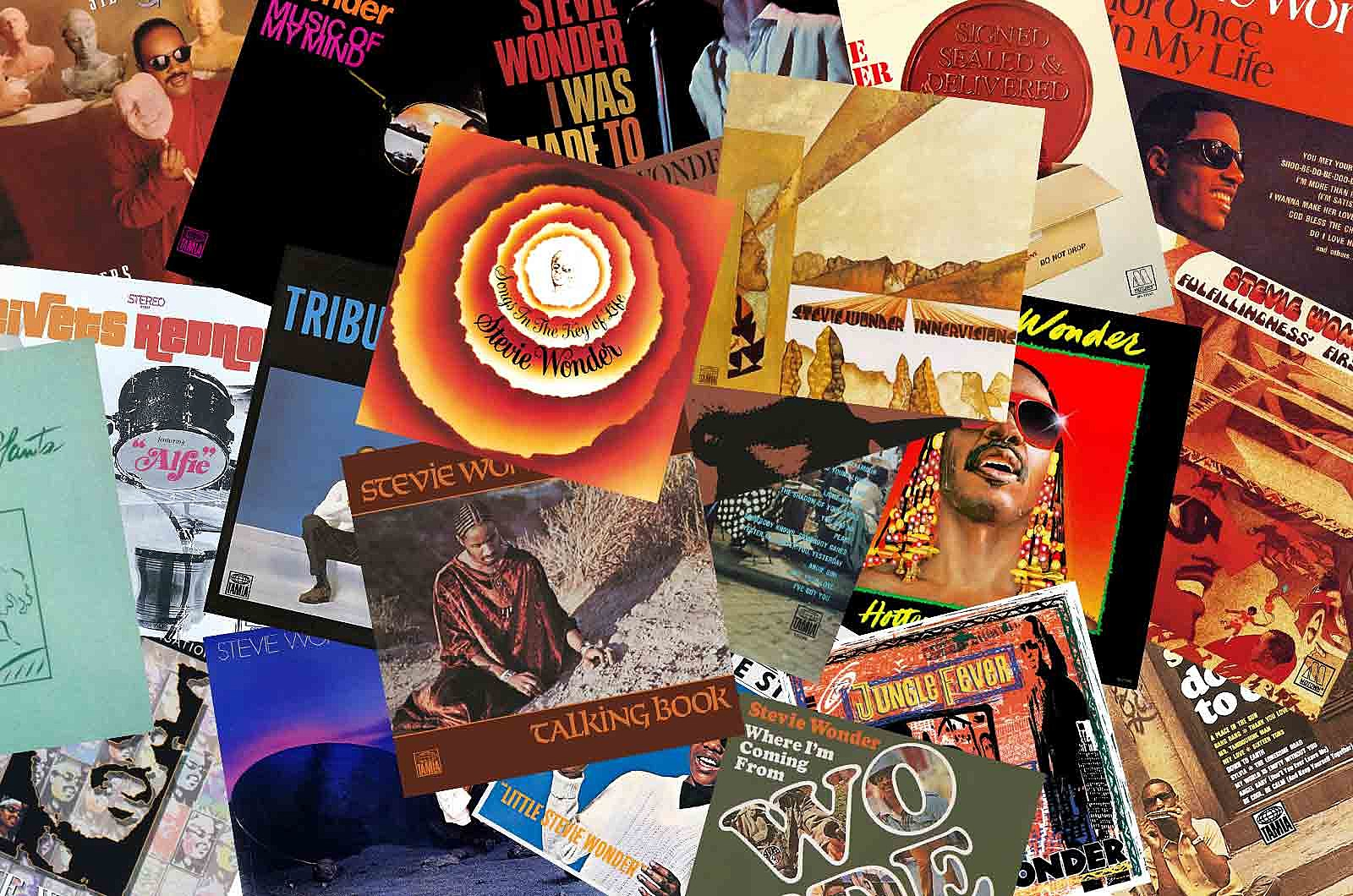 Stevie Wonder Albums Ranked Worst to Best