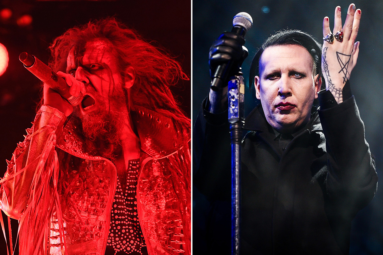 Twins Of Evil Tour 2020.Marilyn Manson And Rob Zombie Announce New Twins Of Evil Tour