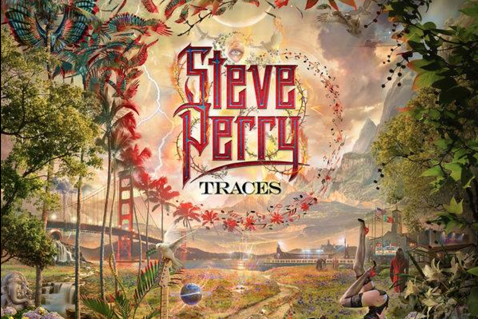 Is This Steve Perry S New Traces Album Cover And Track Listing