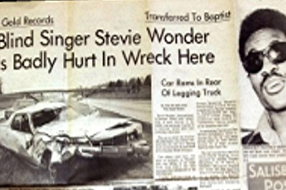 45 Years Ago: Stevie Wonder Seriously Injured in Car Accident