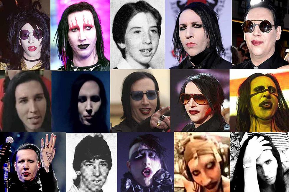 Marilyn Manson Year By Year 1994 2019 Photographs