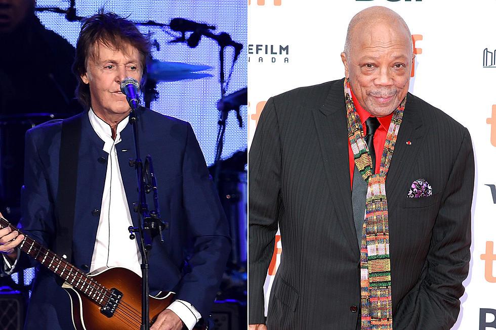 Paul McCartney Called Quincy Jones a 'Crazy Motherf---er'
