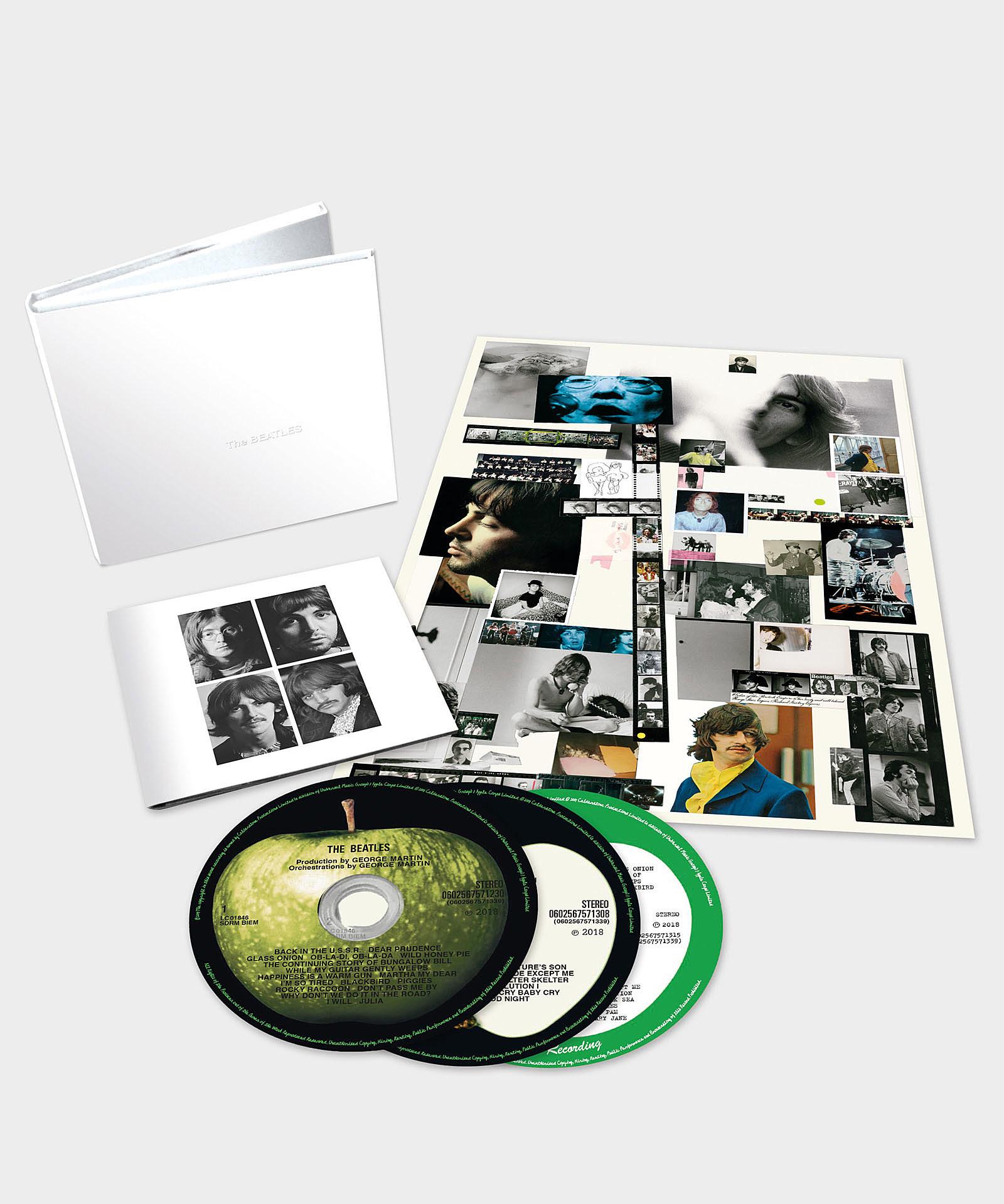Dating Beatles album blanc