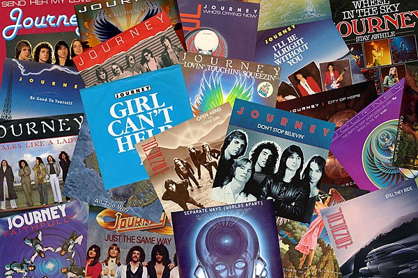 Best Journey Songs Top 10 All-Time List - My Wedding Songs