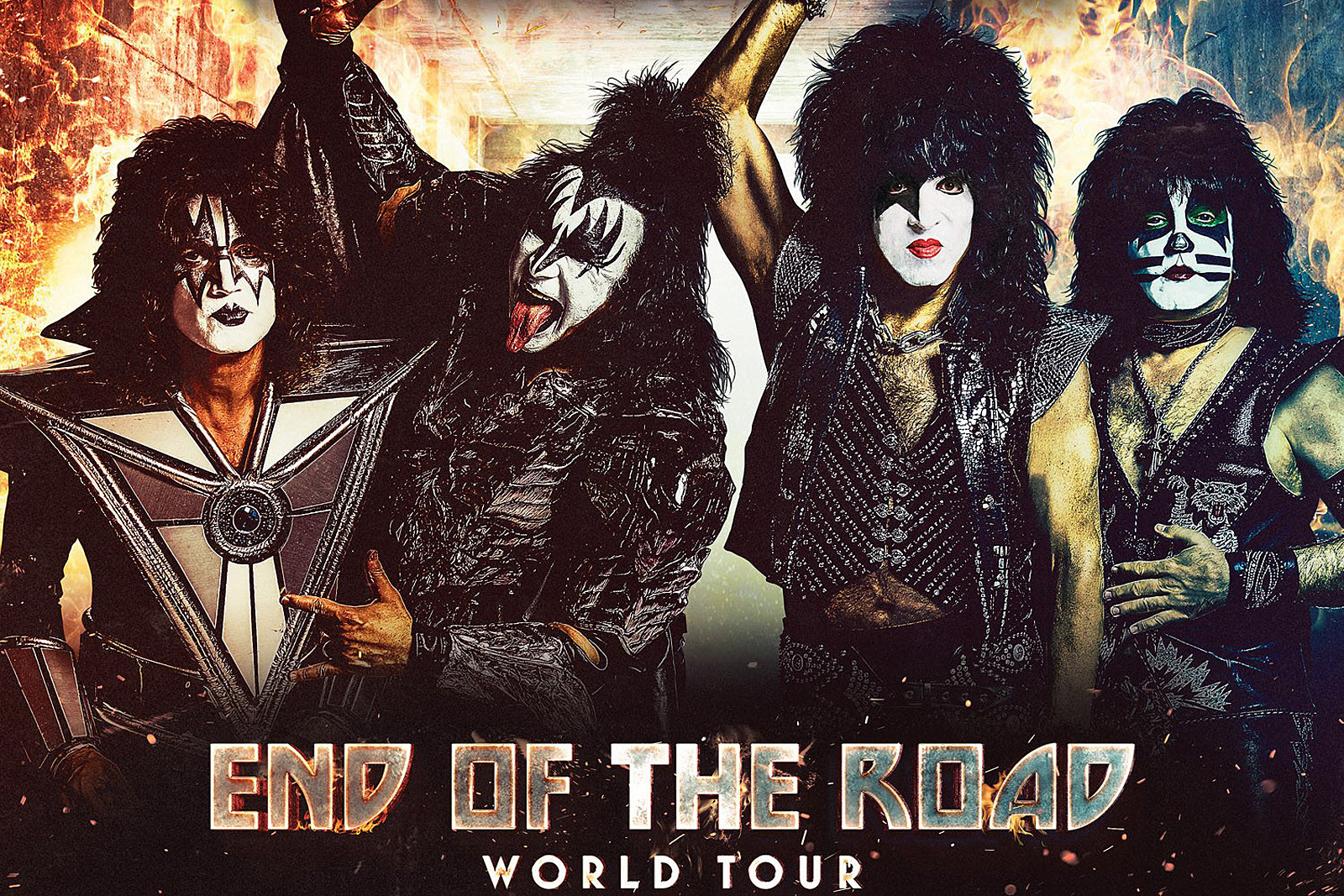 Kiss Announce First 'End of the Road' Farewell Tour Dates