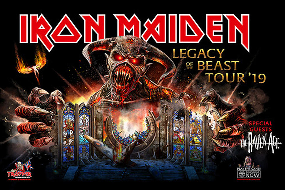 Iron Maiden To Bring Legacy Of The Beast Tour To North America