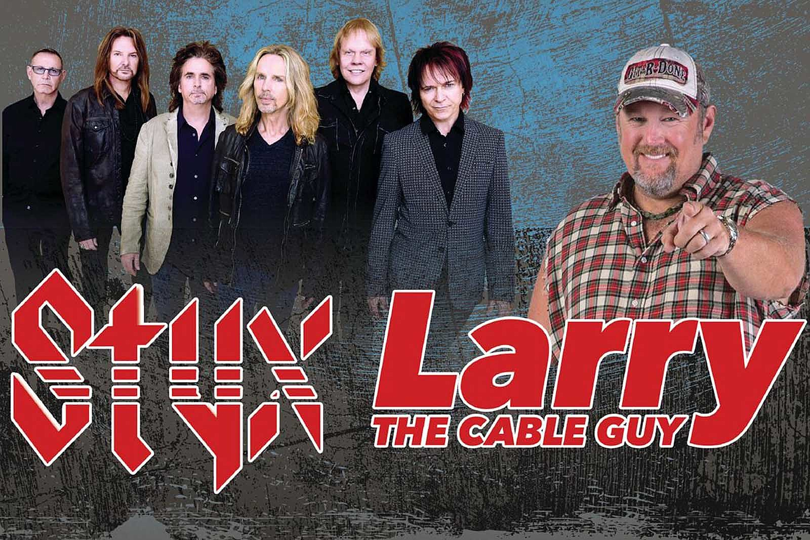 Styx Announce Tour With Larry The Cable Guy