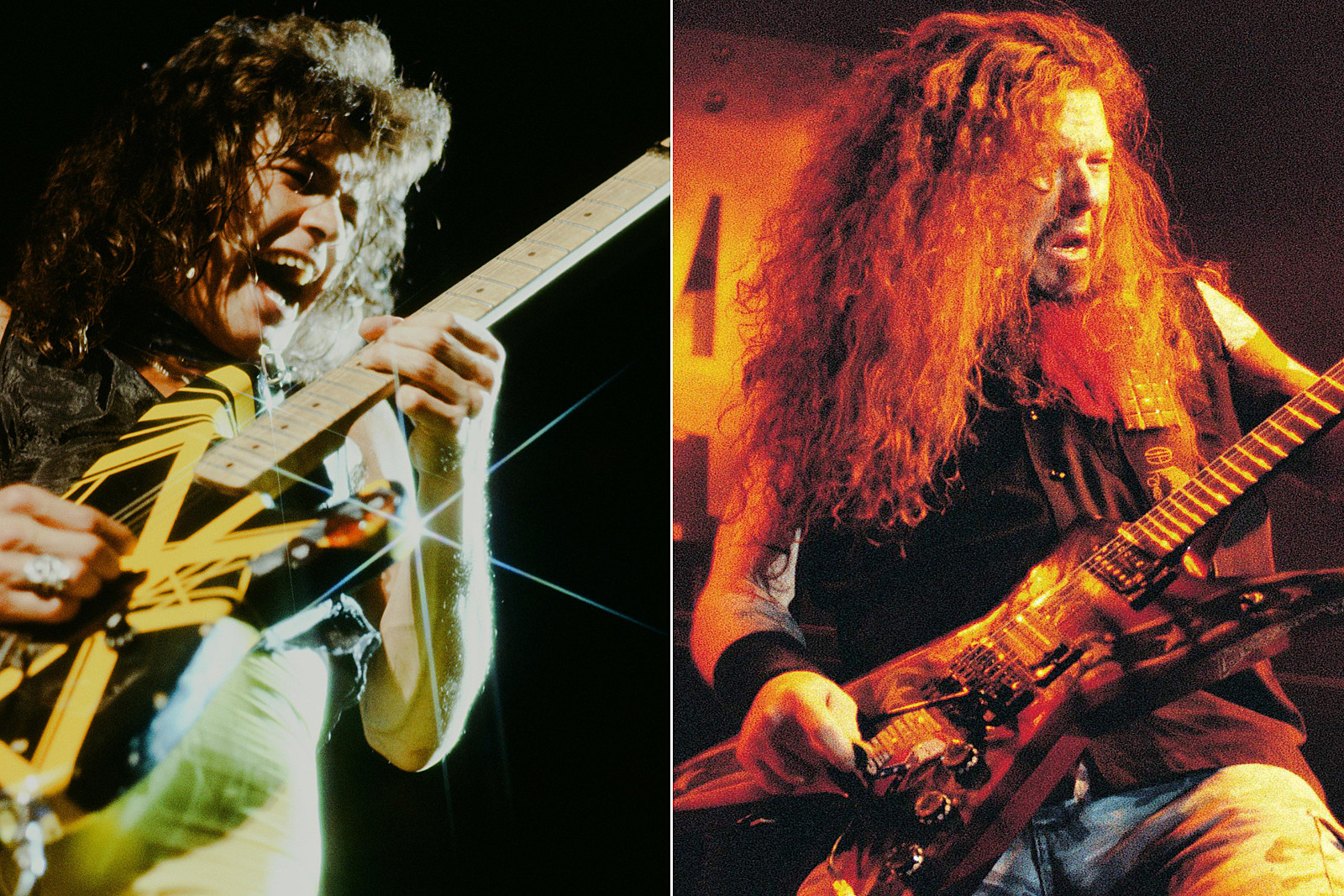 Why Eddie Van Halen Buried His 'II' Guitar with Dimebag