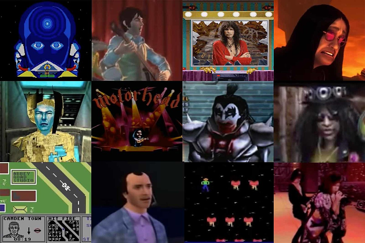 Rock Stars in Video Games: The Complete History