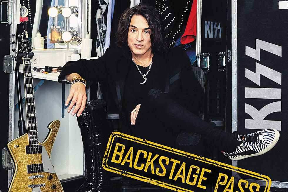 Paul Stanley Confirms New 'Backstage Pass' Book