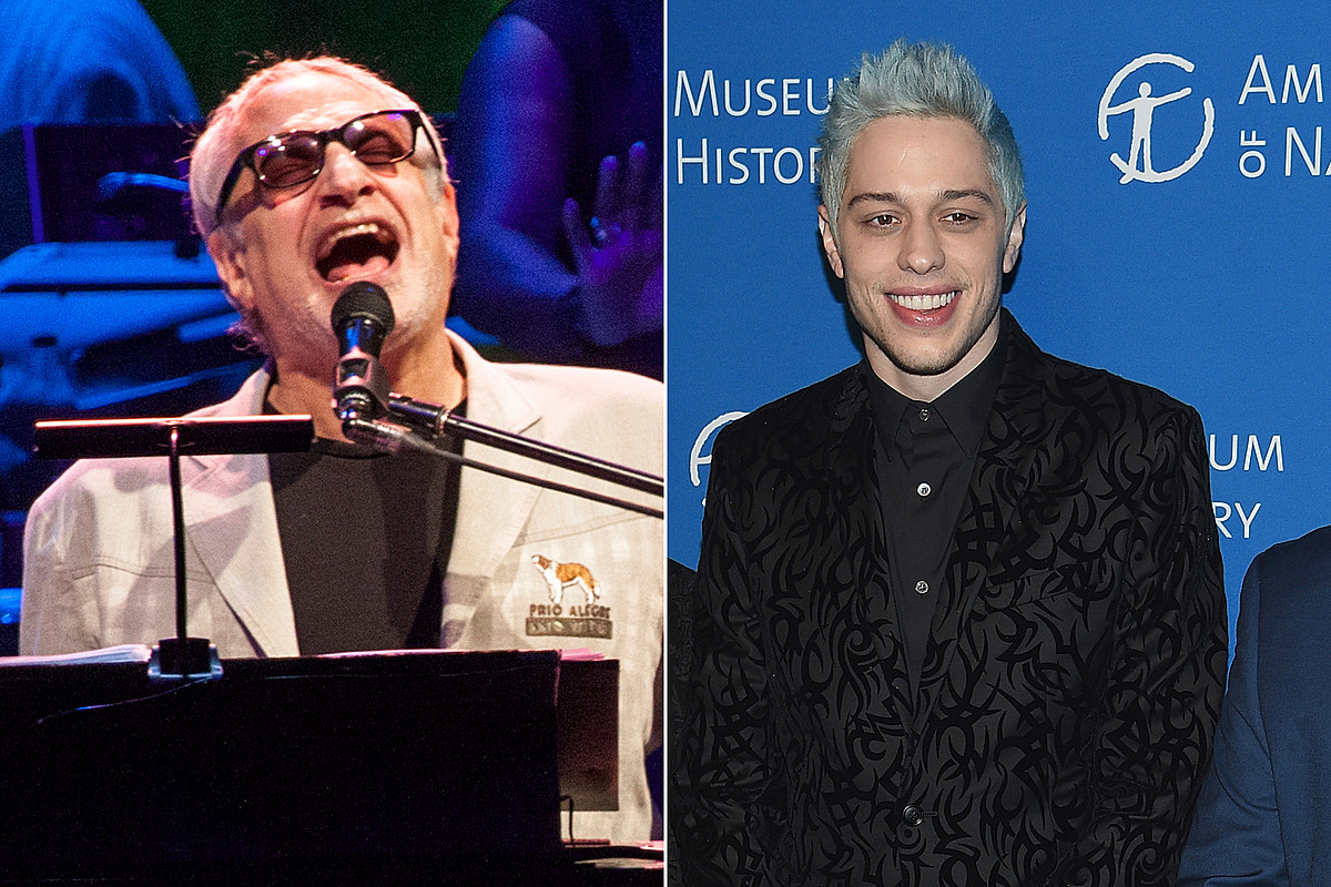 Pete Davidson Conjures 'A Christmas Miracle' at Steely Dan Show