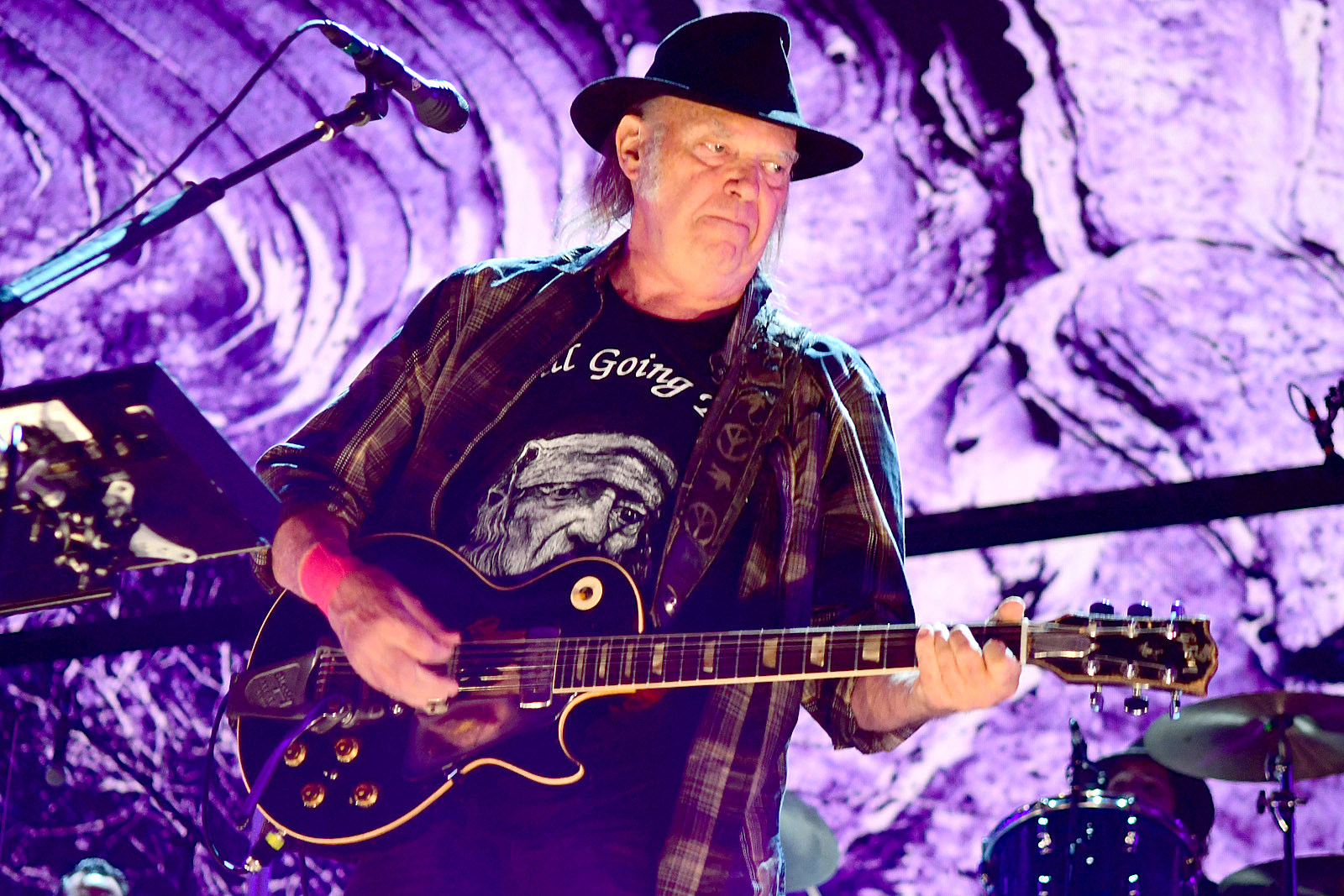 Point. neil young tour all clear