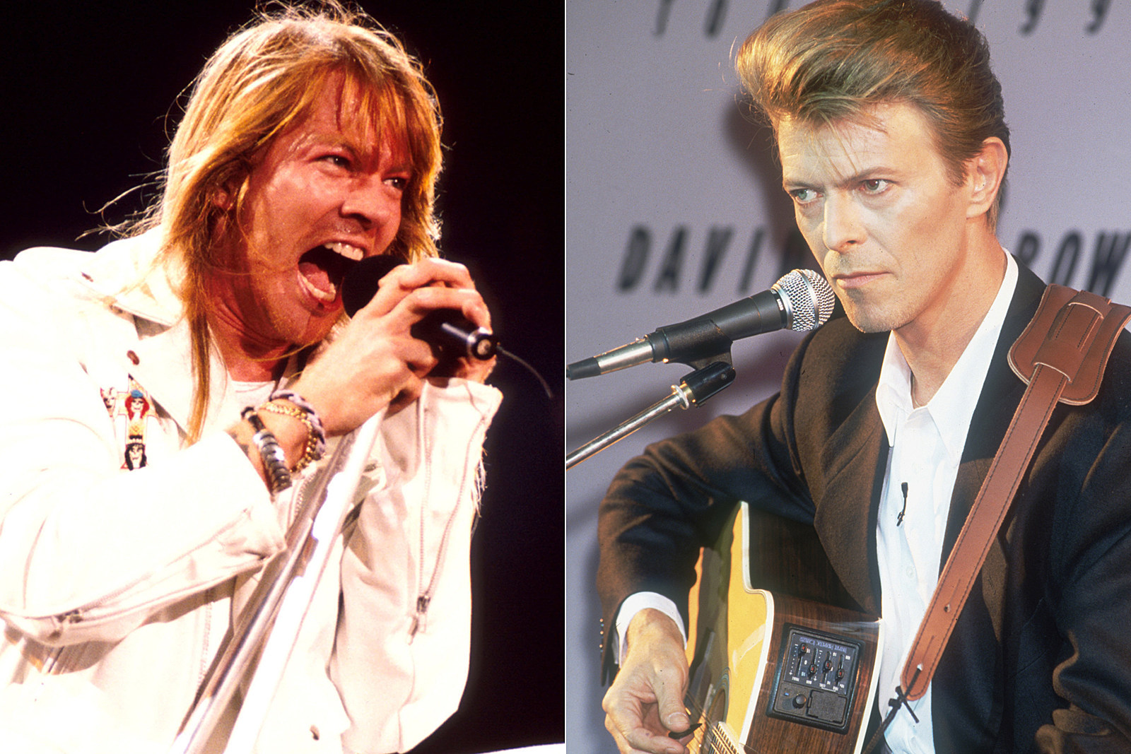 How Axl Rose and David Bowie Bonded After Bondage Battle