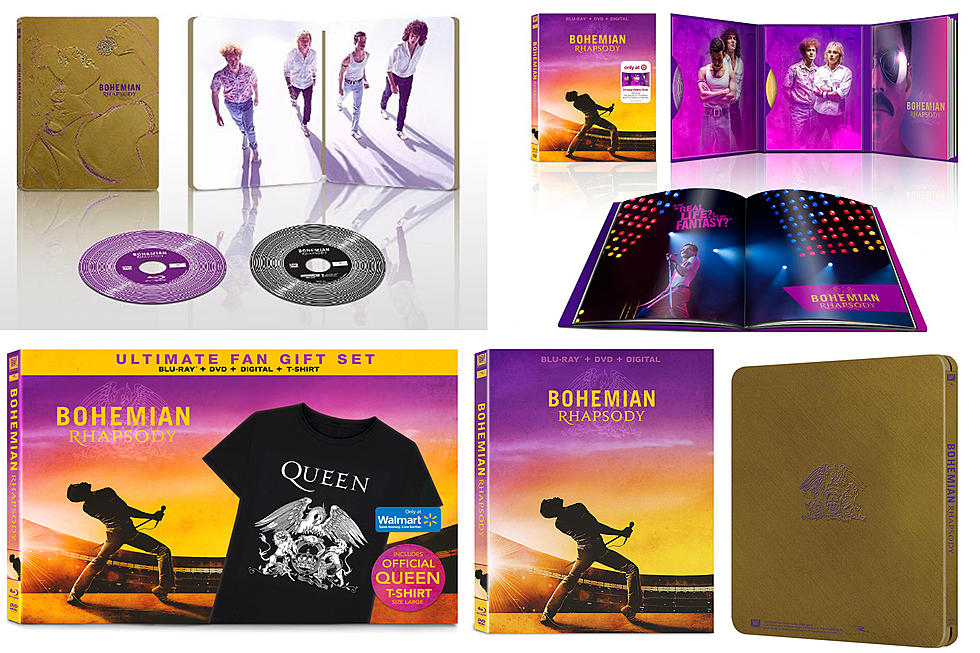 Bohemian Rhapsody' Home Video Release Date, Packaging Revealed