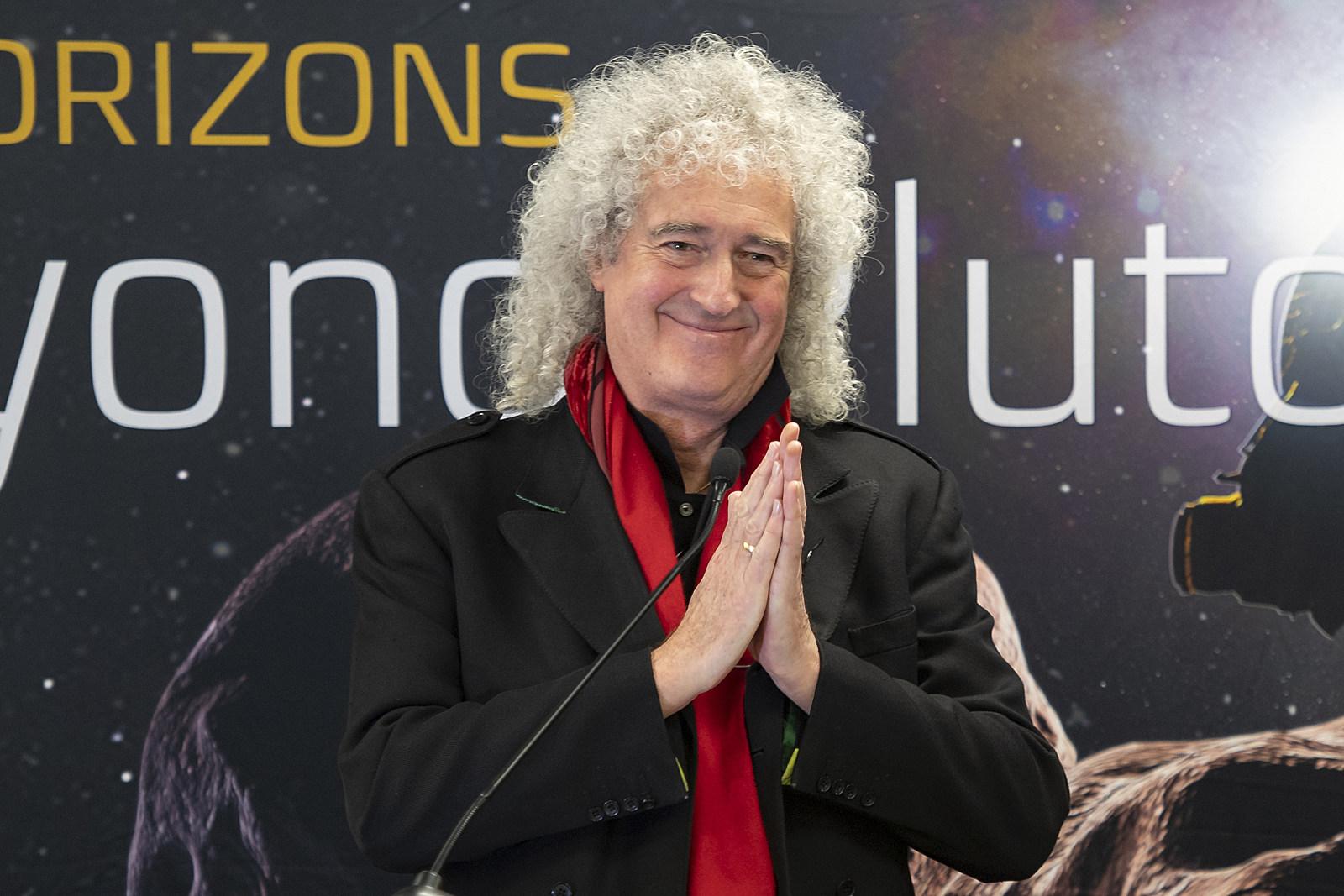 Listen to Brian May's New Single, 'New Horizons'