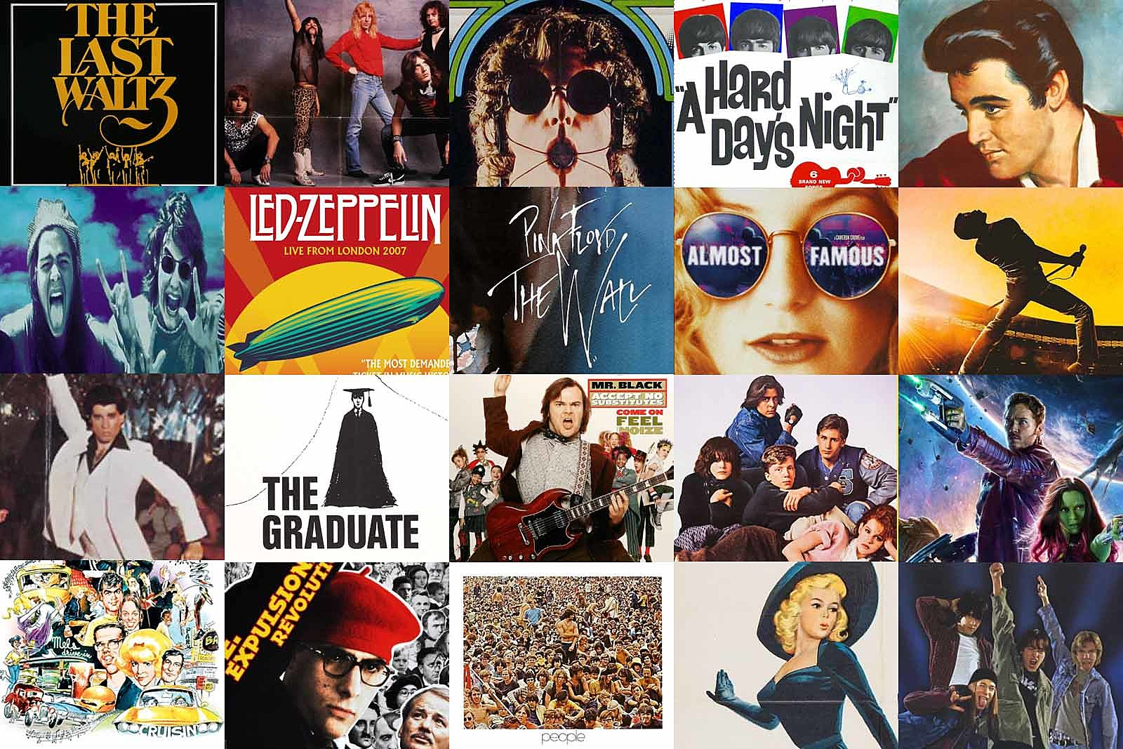 The Best Rock Movie From Every Year: 1955-2018