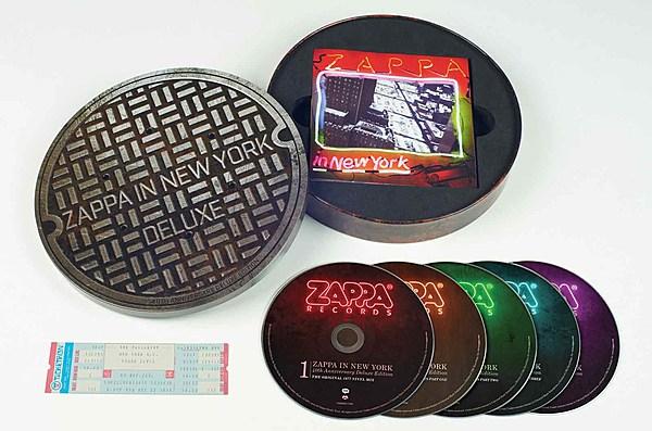 Frank Zappa S Zappa In New York Getting 40th Anniversary Box