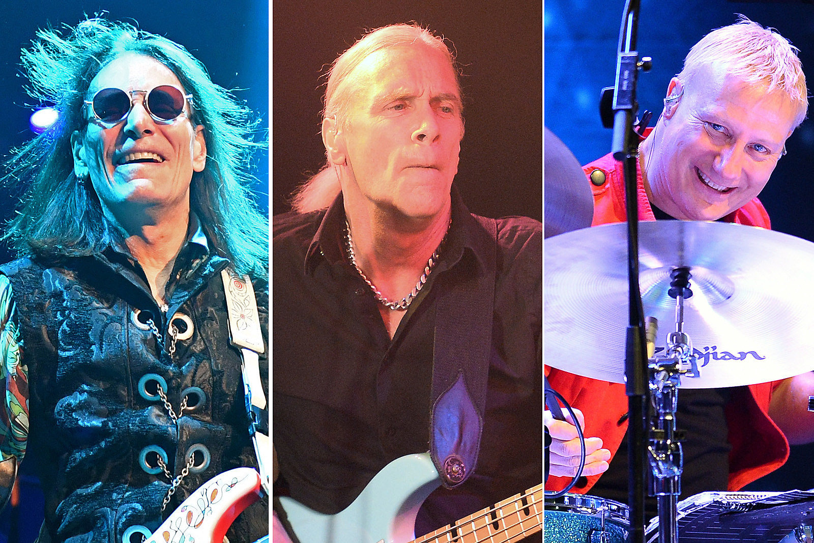 Watch David Lee Roth S Eat Em And Smile Band Reunite Onstage
