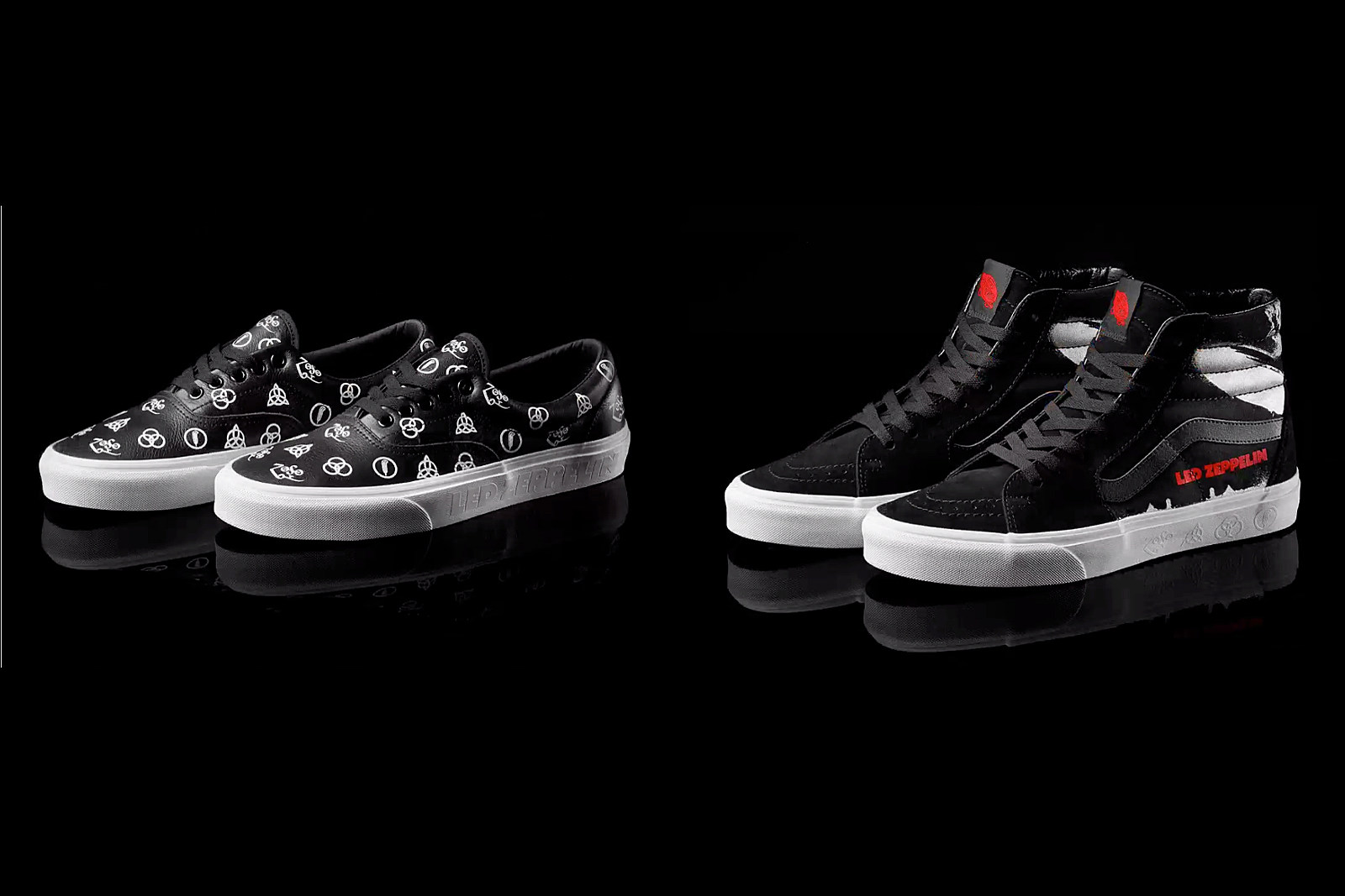 Led Zeppelin Announce New Vans Sneakers