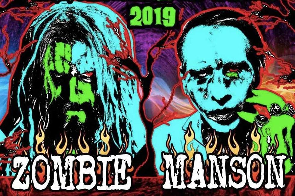 Rob Zombie Tour 2020.Marilyn Manson And Rob Zombie Announce New Twins Of Evil Tour