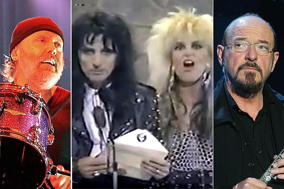 30 Years Ago: Metallica Lose Metal Grammy to Jethro Tull