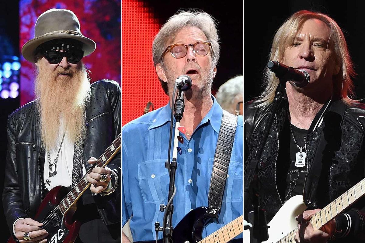 Eric Clapton, Joe Walsh to Play 2019 Crossroads Guitar Festival