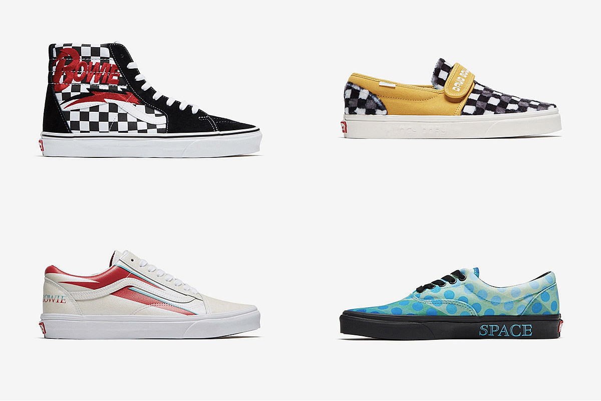 2bfbb7d1b034 Vans to Release David Bowie-Themed Sneakers