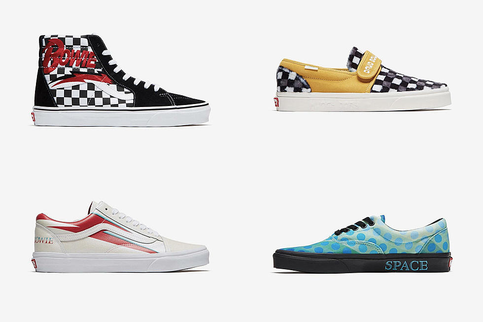 ec6693cfd58088 Vans to Release David Bowie-Themed Sneakers
