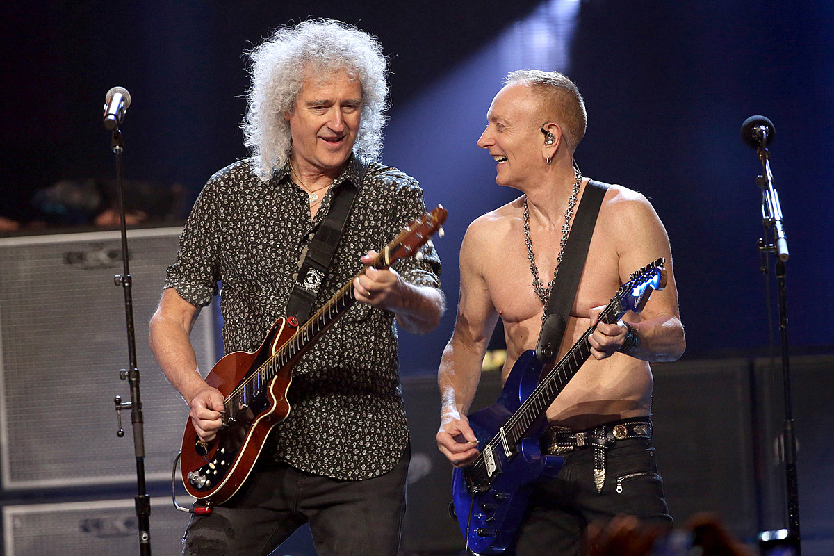 Brian May Inducts Def Leppard Into Rock And Roll Hall Of Fame